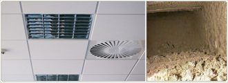 office & commercial air duct cleaning services